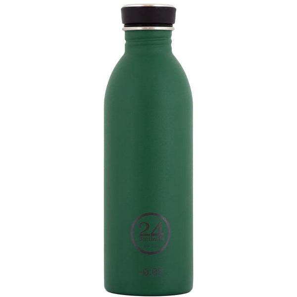 Čutara 24Bottles Urban Bottle 0.5 L Stone Finish (Jungle Green)