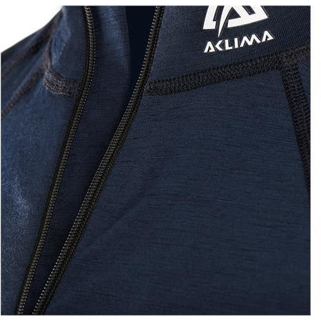Moški volnen puli Aclima LightWool Zip Shirt