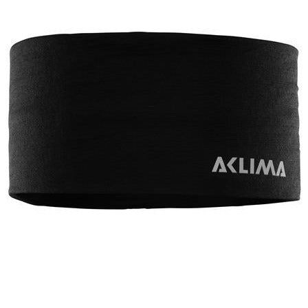 Naglavni trak Aclima LightWool Headband (Jet Black)