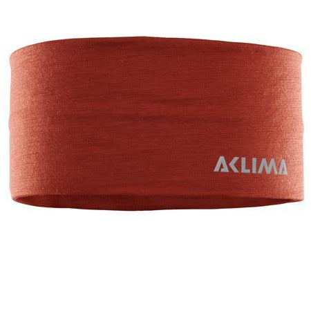 Naglavni trak Aclima LightWool Headband (Red Ochre)