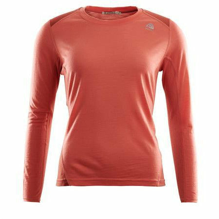 Ženska majica Aclima LightWool Sport Shirt W (Burnt Sienna/Red Ochre)