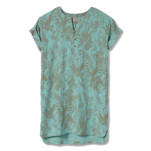 Ženska obleka Royal Robbins Women's Bergen Dress (Turquoise)