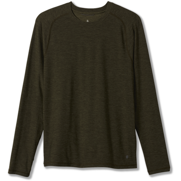 Moška majica Royal Robbins Men's Bug Barrier Tech Travel Long Sleeve (Dark Olive Heather)