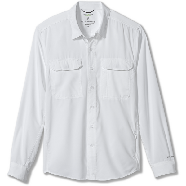 Ženska srajca Royal Robbins Women's Bug Barrier Expedition LS Shirt (White)