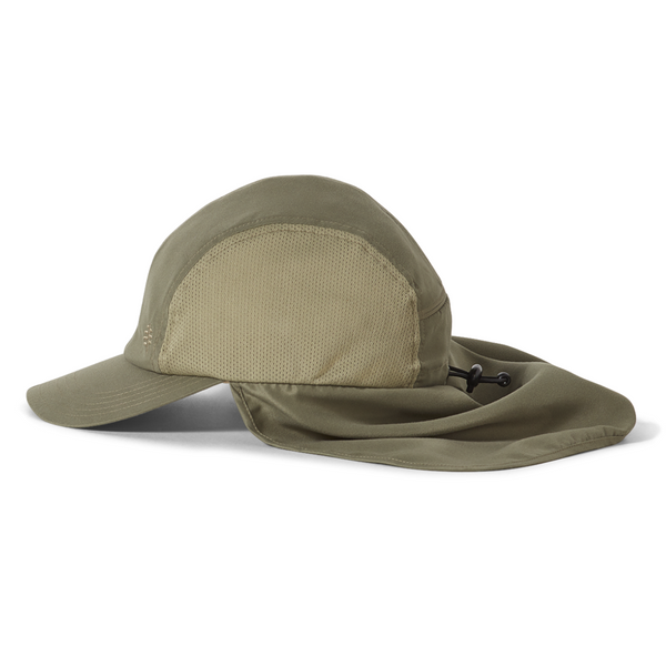 Kapa Royal Robbins Bug Barrier Convertible Sun Cap (Fiddlehead)