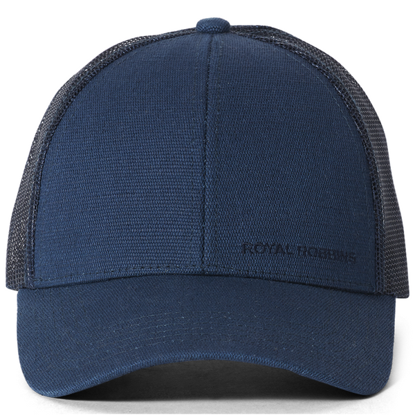 Kapa Royal Robbins Hemp Blend Ball Cap (Deep Blue)