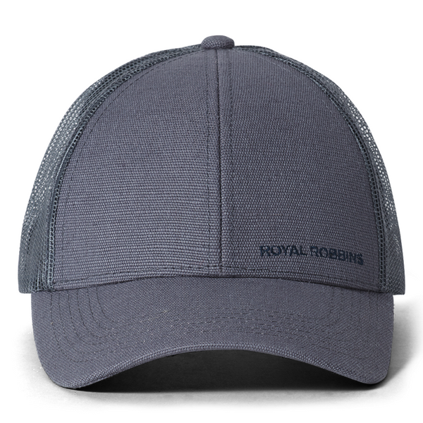Kapa Royal Robbins Hemp Blend Ball Cap (Pewter)