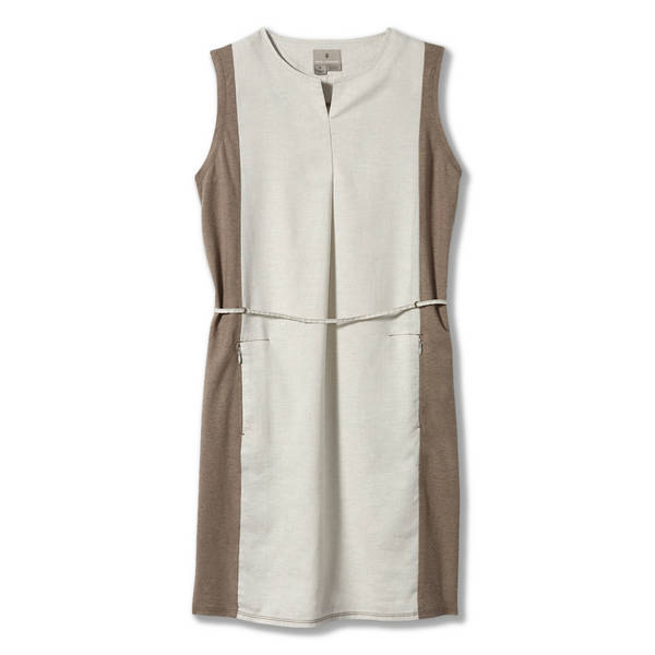 Ženska obleka Royal Robbins Women's Hempline Dress (Soapstone)