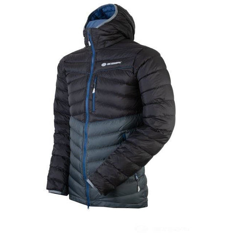 Moška puhovka Sir Joseph Atol Hooded (Black/Grey)
