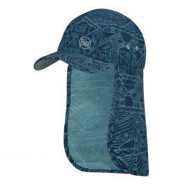 Otroška kapa Buff Bimini Cap (Kasai Night Blue)