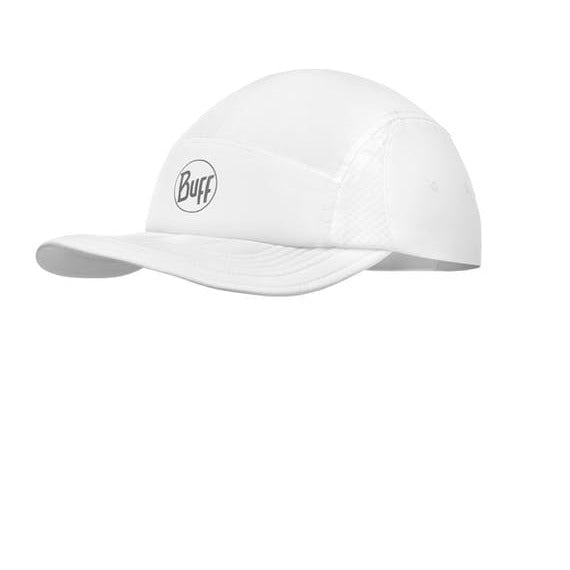 Kapa Buff Run Cap (Solid White)