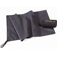 Potovalna brisača Cocoon Microfiber Towel Ultralight Medium (Manatee Grey)