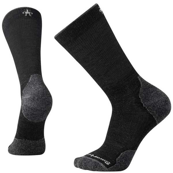 Moške nogavice Smartwool PhD® Outdoor Light Crew Socks  (Charcoal)