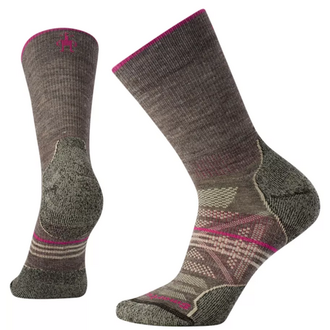 Ženske nogavice Smartwool Wm's PhD®Outdoor Light Crew Socks (Taupe)