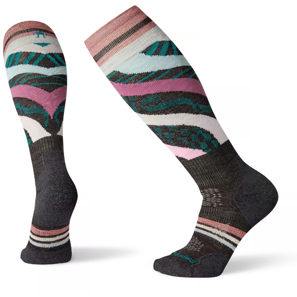 Ženske nogavice Smartwool Wm's PhD® Ski Light Socks (Charcoal)