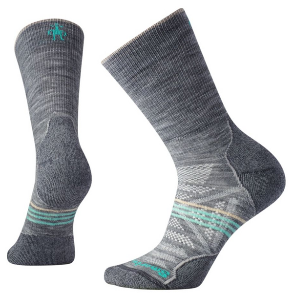 Ženske nogavice Smartwool PhD®Outdoor Light Crew Socks (Light Grey)