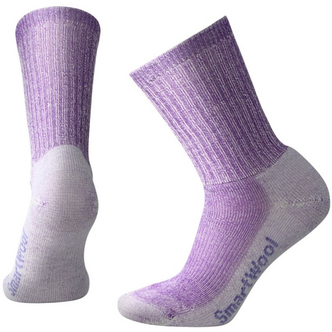 Ženske nogavice Smartwool Hike Light Crew Socks (Grape)