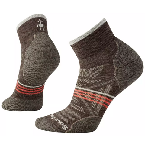 Ženske nogavice Smartool Wm's PhD® Outdoor Light Mini Socks (Taupe)