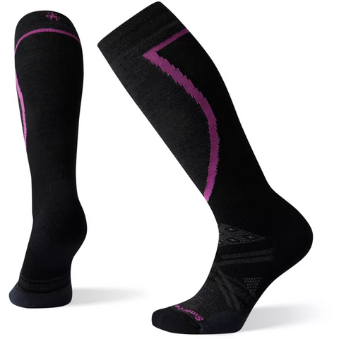 Ženske nogavice Smartwool Wm's PhD® Ski Medium Socks (Black)