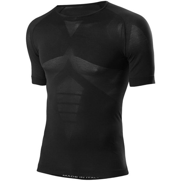 Moška športna majica Löffler Shirt Seamless Transtext® Light (Black)
