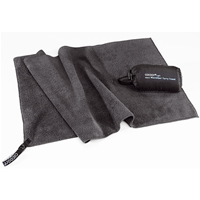 Potovalna brisača Cocoon Terry Towel Light Medium (Dolphin Grey)