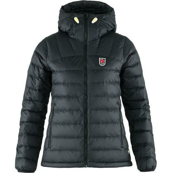 Ženska puhovka Fjällräven Expedition Pack Down Hoodie W (Black)