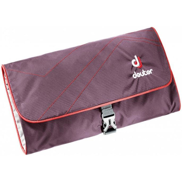 Toaletna torbica Deuter Wash Bag II 8Aubergine/Fire)