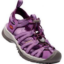 Ženski sandali Keen Whisper Sandals  (Grape Kiss/Grape Wine)