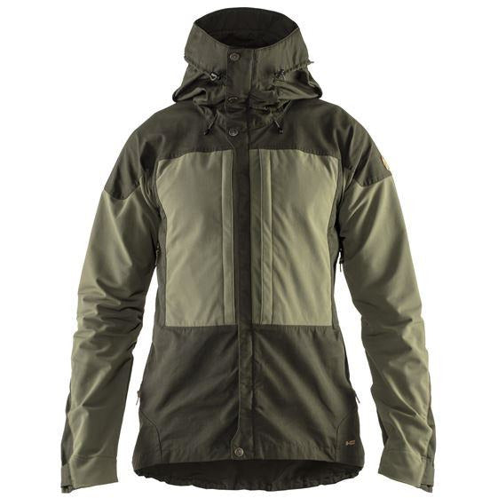 Moška jakna Fjällräven Keb Jacket (Deep Forest-Laurel Green)