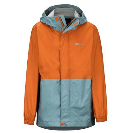 Otroška jakna Marmot Boy's PreCip Eco Jacket (Blue Granite/Hawaiian Sunset)