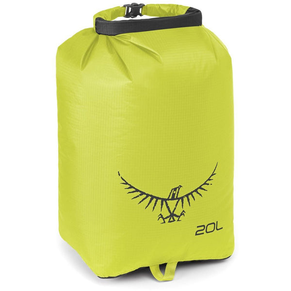 Nepremočljiva vreča Osprey Ultralight Drysack 20 L (Electric Lime)