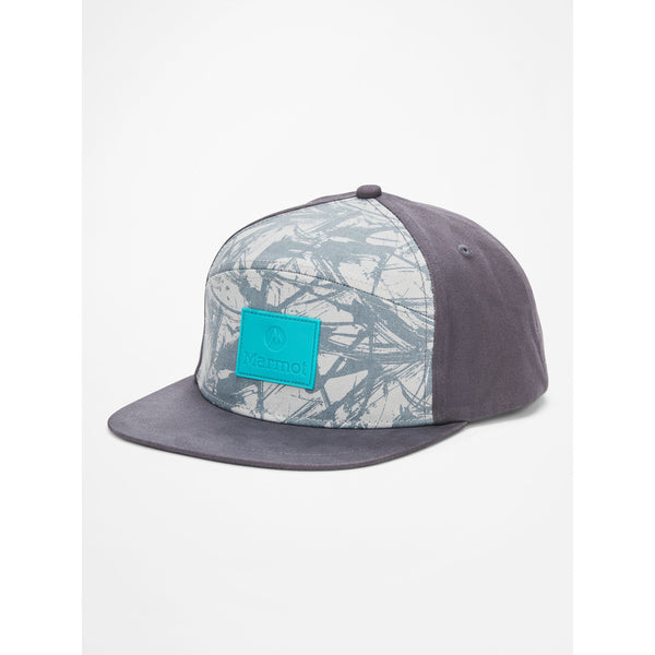 Kapa Marmot Quartz Hybrid Hat (Dark Steel/Racing Stripes)