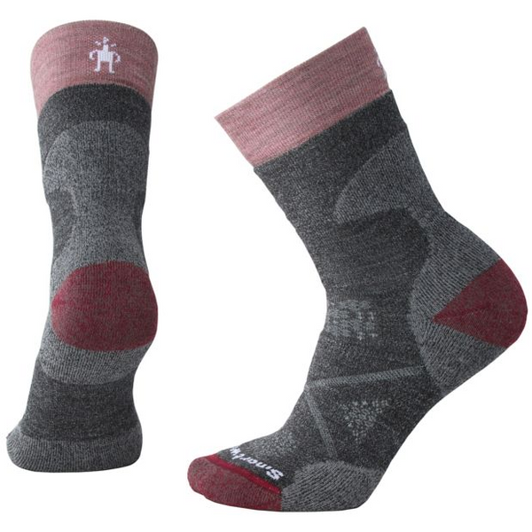 Ženske nogavice Smartwool PhD®Outdoor Medium Crew Socks (Medium Grey)