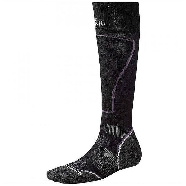 Ženske nogavice Smartwool PhD® Ski Light Socks (Black)