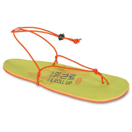 Sandali Lizard Roll Up Sandals (Green/Orange)