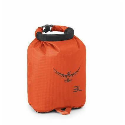 Nepremočljiva vreča Osprey Ultralight Drysack 3 L (Poppy Orange)