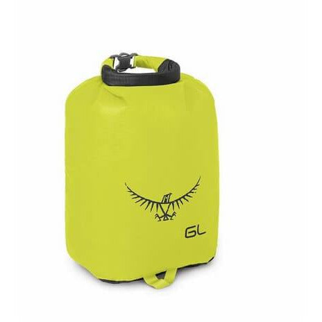 Nepremočljiva vreča Osprey Ultralight Drysack 6 L (Electric Lime)