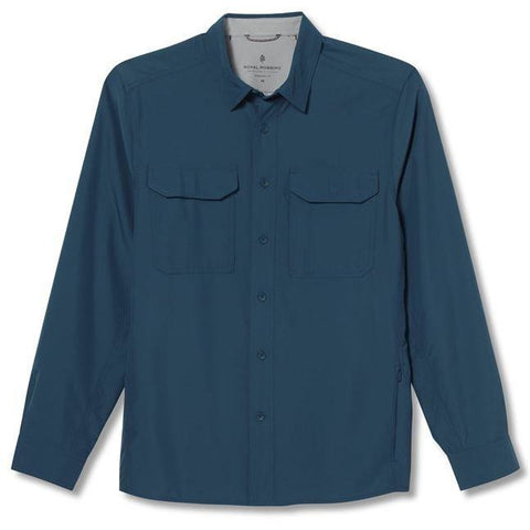 Moška srajca Royal Robbins Global Expedition LS Shirt (Orion)