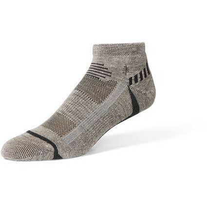 Nogavice Royal Robbins Hemp Travel Quarter Socks (Light Pelican)