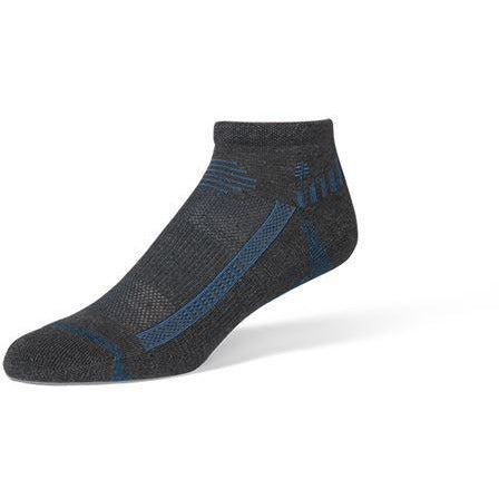 Nogavice Royal Robbins Hemp Travel Quarter Socks (Asphalt)