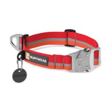 RUFFWEAR COLLARE NYLON TOP ROPE KAKANEE RED