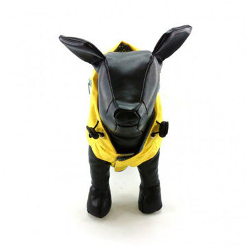 IMPERMEABILE FOUFOU DOG RAINY DAY PONCHO GIALLO