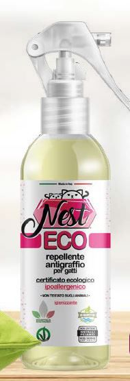 NEST ECO REPELLENTE ANTIGRAFFIO PER GATTI 250 ML