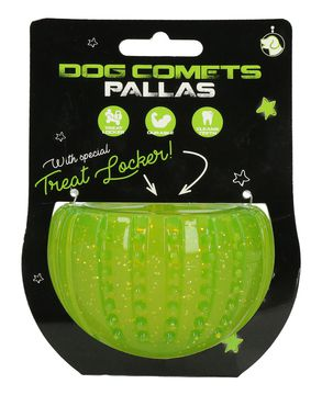 PALLA PER CANI DOG COMETS LOCKER VERDE DISPENSER PREMI