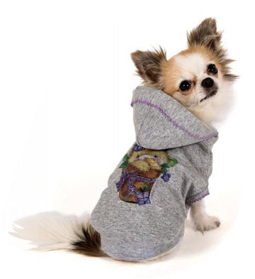 "MAGLIETTA I LOVE MY DOG ""SWEATSHIRT HUGME"" ACQUA"