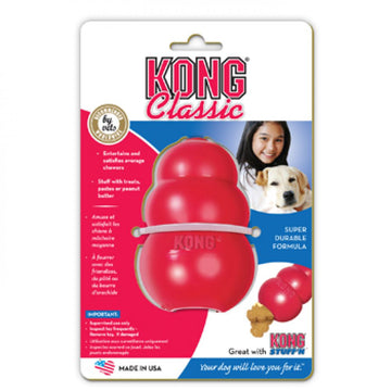 CLASSIC KONG TOY ROSSO PICCOLO
