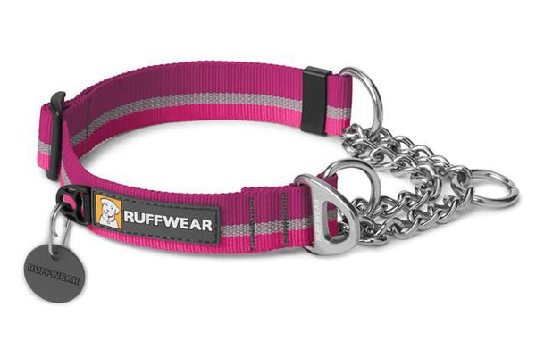 RUFFWEAR COLLARE IN NYLON SEMI-STROZZO CHAIN REACTION PURPLE DUSK