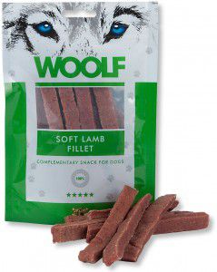 WOOLF SNACK PER CANE FILETTO DI AGNELLO 100 GR