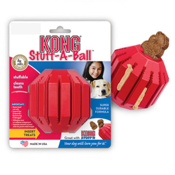 KONG TOY STUFF A BALL ROSSO MEDIUM