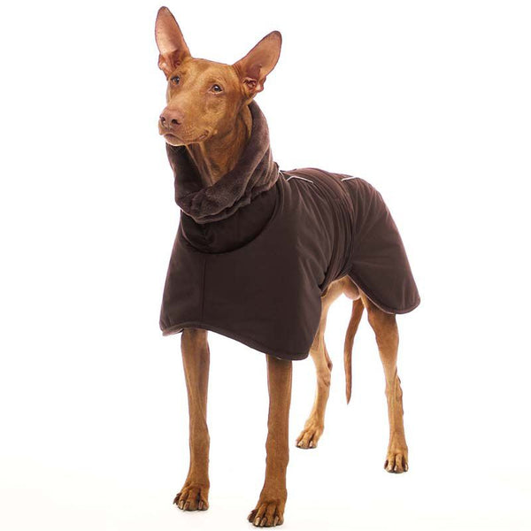 "CAPPOTTINO INVERNALE ""SOFA STING ELITE"" PER GALGO E GREYHOUND MARRONE"
